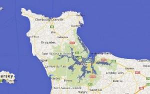 Hausse du niveau de la mer Cotentin Stop Population