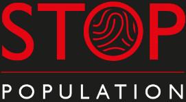 Logo empreinte stop-population