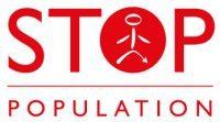 Surpopulation mondiale Stop Population Logo