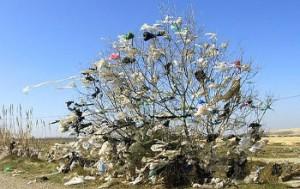 la gestion des déchets sacs plastiques