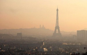la pollution des airs Paris