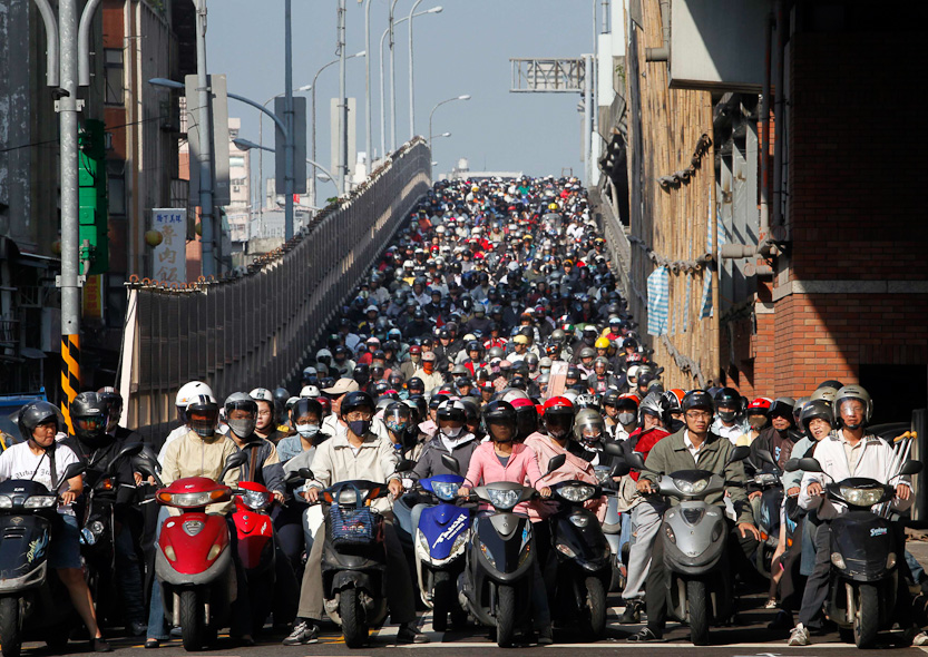 surpopulation-mondiale-Taiwan-Taipei